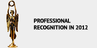 Professional recognition 2012